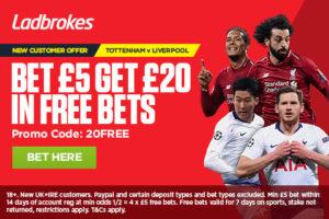 Champions League Ladbrokes Offer
